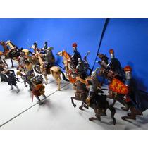 Super Set Romano Soldado Biga Cavalo Gladiador 10 Cm