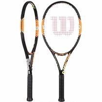 Raqueta Profesional Wilson Burn 100 S/fda Tennis Deporte