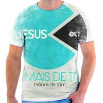Camisa, Camiseta Gospel Moda Evangélica Frases Cristã 84