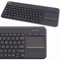 Teclado Wireless Touch Keyboard K400 Plus