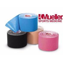 Paquete De 4 Cintas Kinesiologicas Tape Neuromuscula Mueller