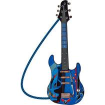 Instrumento Musical Guitarra Infantil Radical Hotwheels Luxo