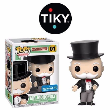 Funko Pop Mr Monopoly Del Juego De Mesa Exclusivo Walmart