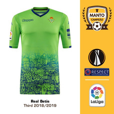 Camisa Real Betis 2018 2019 Third Uniforme 3 Lo Celso Bartra 46126c2e87a7a