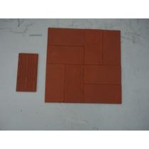 Ceramica Roja 8x16 Nuevas Lote De 15 Unidades Nuevas