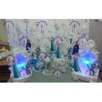 Centro De Mesa Frozen Campanita Alicia Y Mas