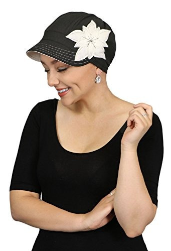 La Quimio Hats Para Mujeres Cáncer Gorras Gorros Lindos ... 0745d557fbf