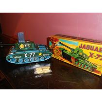 Tanque Jaguar X-77 Chapa.japon.dec.50 - Devoto Toys