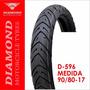 Llanta Diamond D-596 90/80 - 17 Sellomática (1162)