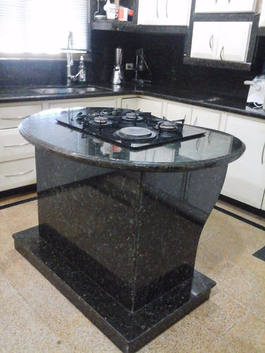 Topes de cocina laminas de granito silestone marmol for Granito o silestone para cocinas