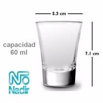 Vaso Tequila Nadir Caja X 24 U.