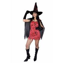 Fantasia Vampira Adulto,halloween,dia Das Bruxas Kit 4 Peças