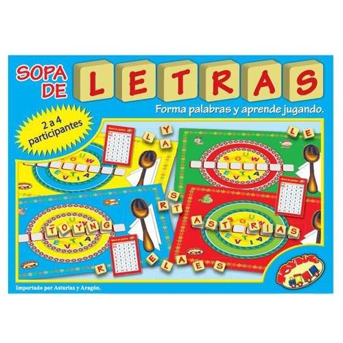 Juego De Mesa Sopa De Letras 8 925 En Mercado Libre