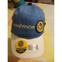 Gorra Oficial De La Fmf Aguilas Del America Etiquetada Niño