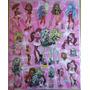 Stickers Violetta Frozen Monster High Mundo Gaturro Y Mas!!!