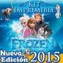 Kit Imprimible Frozen Edición Actualizada Full Fiesta Torta