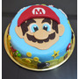 Torta Cumpleaños Decoradas Caseras Mario Bross
