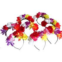 Vincha Flores X 10 - Casamientos Fiestas Cotillon 15 Años