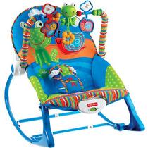 Cadeira De Balanço Crescendo Comigo Sapinho - Fisher Price