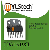 Amplificador Audio Tda1519cl Tda1519 Repuesto Radio Motorola