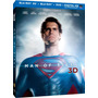 Man Of Steel - Superman - En Blu-ray 3d / Blu-ray / Dvd