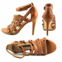Sandalias De Cuero French Connetion 38 Taco 12 Oferta