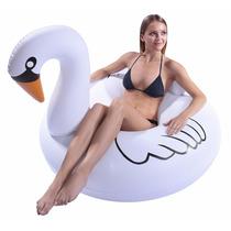 Juguete Inflable Ganzo Blanco Ganso Swan Para Adultos, Ninos