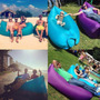 Sillon Inflable Lazy Bag Quilmes Playa Envios A Todo El Pais