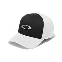 Bone Oakley Tincan Oval ( Branco Com Preto L/xl )