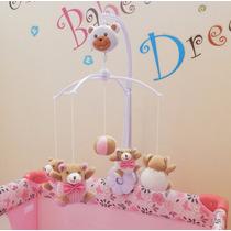 Móbile Giratório Musical Para Berço Bebê Criança