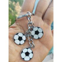 Balones Futbol Llavero De Dijes Acero Inoxidable 1281