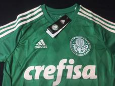 Camisa Palmeiras 2015 Home Infantil Tam 14 adidas 023a3b8ee276e