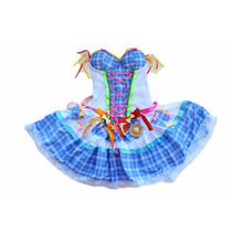 Saia De Festa Junina,roupa Caipira,junino,quadrilha,vestido