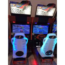 Daytona Usa Linkada Twin Com Led Sega (simulador De Corrida)