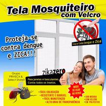 Tela Mosquiteira Protetora P/ Janela Contra Insetos 1,25x1,0