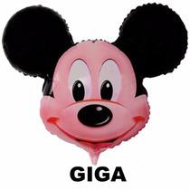 Balão Metalizado Mickey-kit Com 10 Unidades