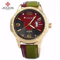 Relógio Julius Original C/ Estojo + Frete Grátis.