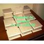 Cajitas Tipo Cofre 12x12x6 Tapa Articulada Y Biselada Mdf