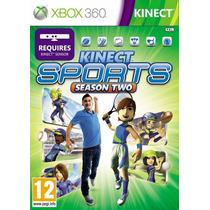 Kinect Sports (segunda Temporada) Xbox 360 Nuevo Y Sellado