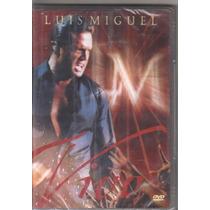 Dvd Luis Miguel - Vivo, Original Lacrado