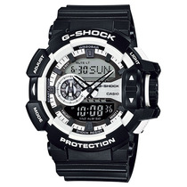 Relógio Casio G-shock Ga-400 1a H.mundial 5 Alarmes 200m Nfe
