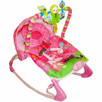 Cadeira Cadeirinha Bebê Musical Vibratória Balanço Rocker !