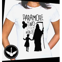 Camiseta Paramore Ou Baby Look Regata Banda Rock Blusa