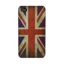 Bandera Regear Inglés Británico Caso Del Reino Unido Para