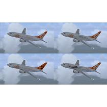 Aeronave Fsx - Frota Gol - Boeing 737 (-700 E -800)