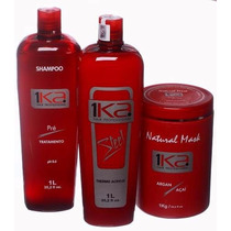 Kit Progressiva 1ka Steel 1000ml *** Imperdível (sem Formol)