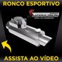 Escapamento Esportivo Válvula Dupla Roda Esportiva S10