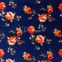 Flores Azul-Naranja (Polilycra)