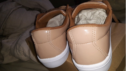 62abd98cfa20c Tênis Dafiti Shoes Cano Baixo Clean Nude - R  80
