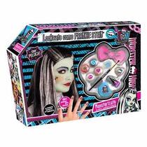 Monster High Frankie Set Maquillaje Peluca Uñas De Tv Filsur